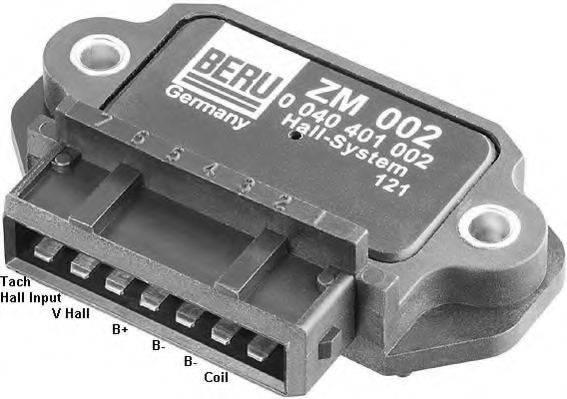 Коммутатор системы зажигания BERU ZM002