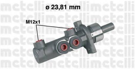 ГТЦ (главный тормозной цилиндр) METELLI 05-0280