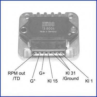 Коммутатор системы зажигания HITACHI 138004