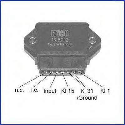 Коммутатор системы зажигания HITACHI 138012