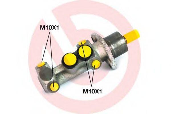ГТЦ (главный тормозной цилиндр) BREMBO M 23 020