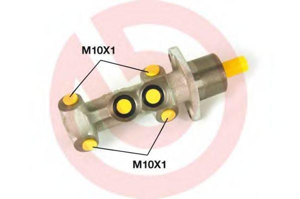 ГТЦ (главный тормозной цилиндр) BREMBO M 23 041